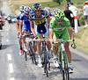 Sagan is looking good for the day's bonus sprint at Vaison-La-Romaine...