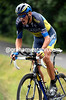 Roman Kreuziger raced into 4th place at 23-seconds and moved into 3rd-place overall...