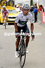 Quintana emerges ahead of Rodriguez with two-kilometres left...