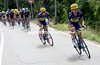Saxo-Tinkoff attack Sky on a 3rd-category ascent, with Paulinho and Roche the crazy animators..!