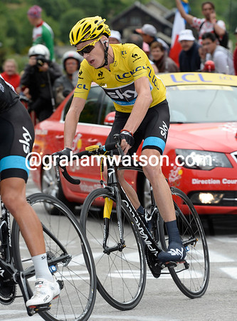 Froome has let Quintana and Rodriguez go - he's extended his lead on Contador though..!