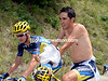 Contador is clearly not comfortable with the growing heat, or is the pressure starting to tell..?