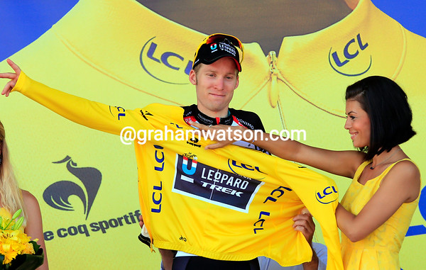 Jan Bakelandts remains race-leader for tomorrow's TTT around Nice...