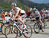 Andre Greipel and Mark Cavendish start to struggle on the last climb - their chances of a stage-win will come one day..!