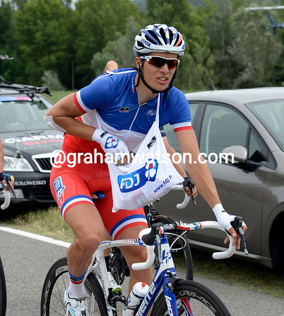 What does French champion Artur Vichot have for lunch - Fois Gras or Ratatouille..?