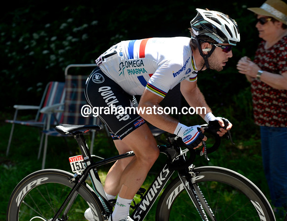 Cavendish has been shelled out by Cannondale's pace - as have Greipel and Kittel..!