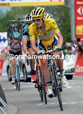 """Impey has ridden well as race-leader, but he'll lose 7' 50"""" and the yellow jersey..."""