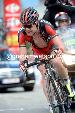 """Cadel Evans is having a very bad day - the former Tour winner will lose 4' 13""""..."""