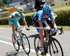 Martin does most of the work ahead of Fuglsang - Garmin has ended the day the way it began, by attacking..!