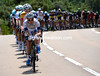 Argos-Shimano start the serious chasing now, they'll be relayed by Lotto and Omega soon...