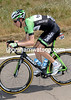 Bauke Mollema looks almost un-recognisable in his new Belkin colours...