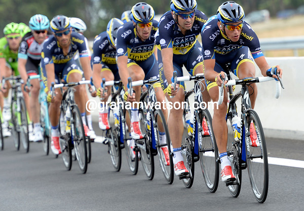 Saxo-Tinkoff has launched a new offensive into the winds, with Roman Kreuziger leading the charge...