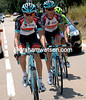 Laurent Didier paces fellow Luxemburger, Andy Schleck - check out their new Trek-designed clothing and bikes..!