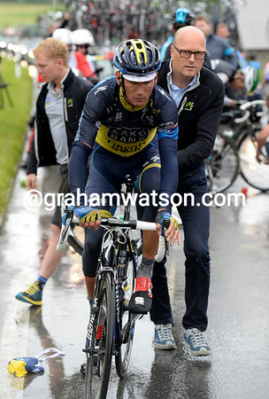 Roman Kreuziger has Bjarne Riis to help him pick up the momentum again...