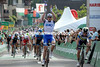 Arnaud Demare has beaten Matt Goss to win stage four..!