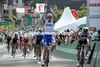 Arnaud Demare has beaten Matt Goss to win stage four..!