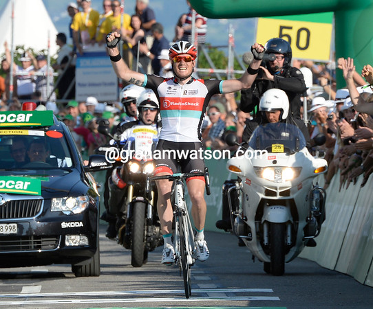 Greg Rast wins stage six after attacking in the last kilometres ...