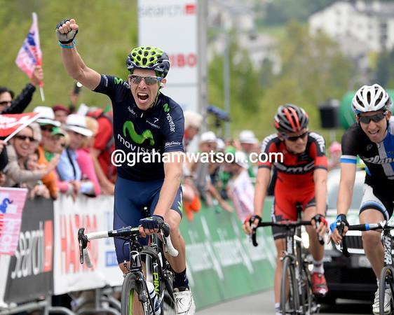 Rui Costa wins stage seven into La Punt, ahead of Mollema and Van Garderen...