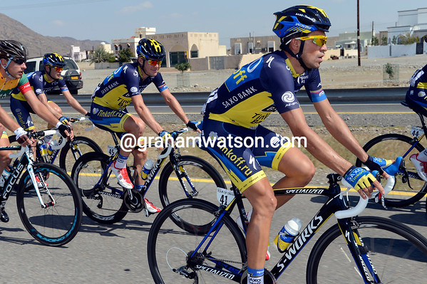 Alberto Contador is in Oman too, having already raced in Argentina in January...