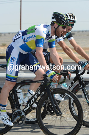 Matthew Goss has come to Arabia just for the Tour of Oman - and he might even win stage one...