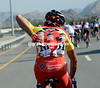 Chinese championGang Xu collects bottles for his Champion Sports teamates...
