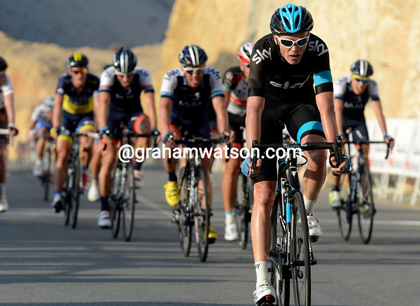 Chris Froome finishes 13th, and loses a few seconds to overall rivals, Contador, Nibali and Velits...