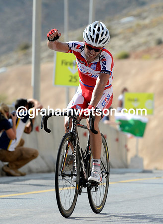 Joachin Rodriguez wins stage four after three years of trying on the Green Mountain..!