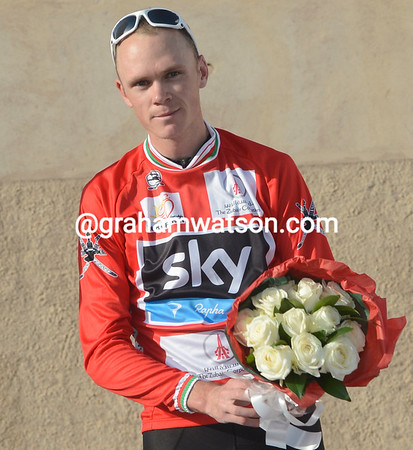 Chris Froome becomes the new race-leader..!