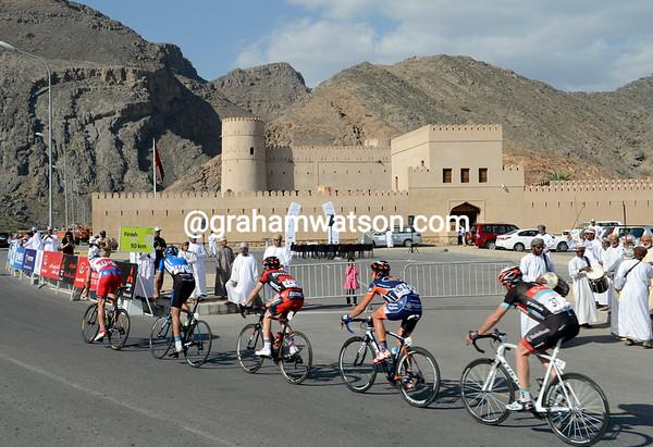 The escape passes a fort at Belkat Al Mouz at the foot of the final climb...
