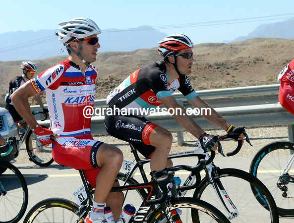 Joachin Rodriguez is having a great day with his mate Markel Irizar - they're both now officially on World Tour teams..!