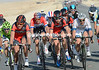 Greg Van Avermaet and Taylor Phinney lead the front group now, the peloton is in six pieces...