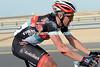Stijn Devolder has got back to the peloton after a nasty fall near the Al Zubarah fort...