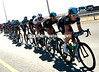 Guess What? Team Sky are the ones chasing BMC's escaper - Geraint Thomas leads the way...