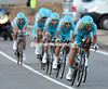 Astana took the win today, a welcome boost for favourte Vicenzo Nibali...