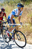 Nicholas Roche is looking a bit grim with the heat of Andalucia...
