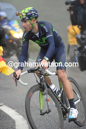 Valverde has recovered well - he'll stay in 3rd-place overall after losing less than one-minute to Nibali and Horner...