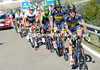 Saxo-Tinkoff raise the pace too, with Majka leading out Nicholas Roche and also trying to dislodge Nibali...