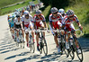 Katusha has gone ballistic in its piursuit - Angel Vicioso leads the chase..
