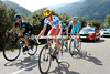 Nicholas Edet and Vasil Kiryienka have split the escape n the 'wall' of Tenetbredo...