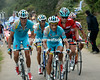 Tiralongo and Fuglsang have dropped back from the original escape and now offer a big threat to Horner...