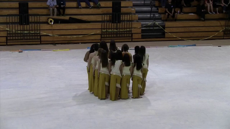Winter Guard JV at Green Hope