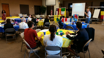 RYE Orientation Day  August 9, 2014 in Fountain Hills, Arizona