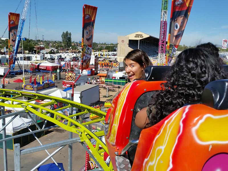 A fun ride at the Arizona State Fair