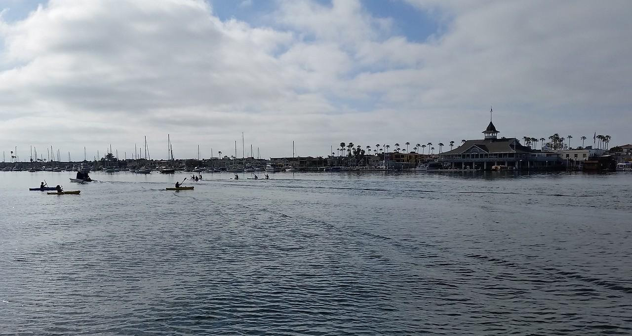 Cedric, Valentina and Rio in Newport Beach, California