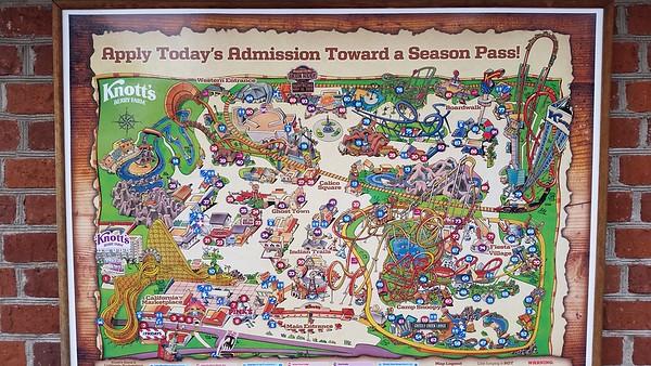 Knott's Berry Farm Theme Park, California