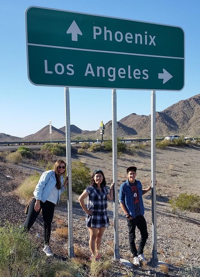 2015 California Spring Break Trip