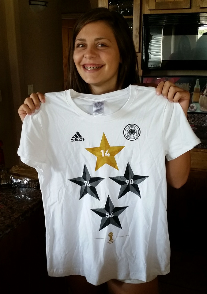 Frieda's Victory Shirt for Sophie