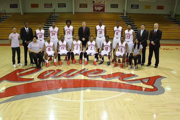 2014-2015 Men's Basketball Team Photos