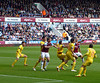 West Ham lose 0-1 to Crystal Palace on Saturday 19th April