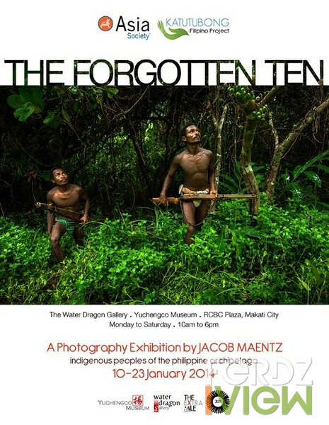 Forgotten Ten exhibit poster